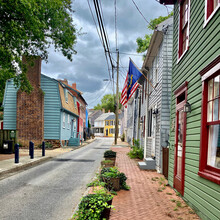 Historic Homes In Annapolis, Maryland.