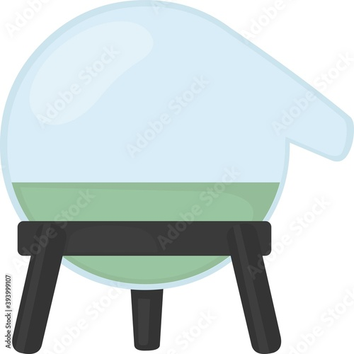 Photo Vector emoticon illustration of an alembic