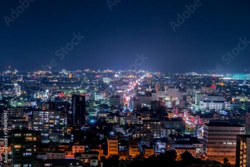 米子市の夜景(鳥取県米子市) Canvas Print