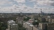 Megapolis. Urban infrastructure from above. Moscow.