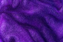 Full Frame Shot Of Purple Glittering Liquid