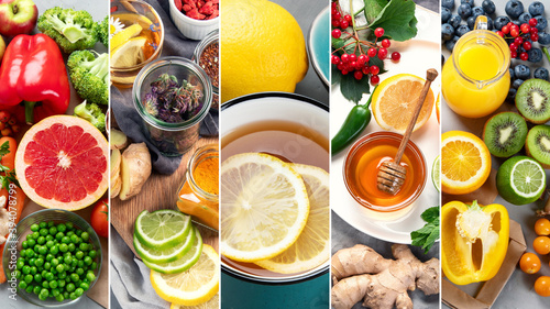 Healthy products for immunity boosting.