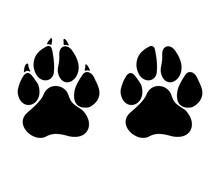 Panther Paw Svg, Paw SVG, Cat Paw Svg, Dog Paw Svg, Pet Paw Svg ,Animal Paw Svg, Digital File Download