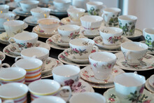 Teacups Set Up For Australia's...