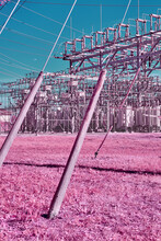 Surreal Electrical Infrastructure Outpost