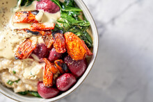 Hearty Creamy And Savory Vegan Oatmeal