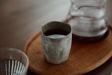 Fresh And Hot Coffee