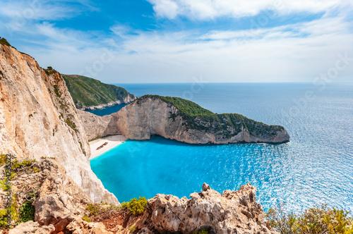 Cuadros en Lienzo Grecja - Zakynthos - zatoka wraku