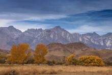 The Jagged Peaks Of The Sierra...
