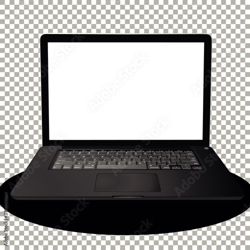 Photo Laptop or computer on transparent background