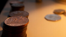 Two Pence Finance On The Table