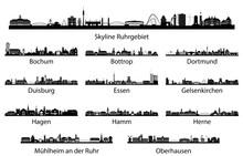 Ruhrgebiet Skyline