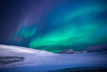Photo Nature, Mountain, Night...