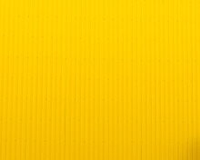 Yellow Corrugated Metal Wall Texture And Background