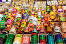 Rows Of Traditional Colorful G...