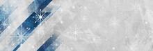 Geometric Grunge Christmas Bac...