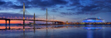 Panorama With Cable-stayed Bri...