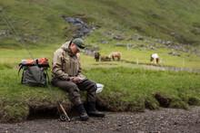 Angler Resting, Faeroe Islands