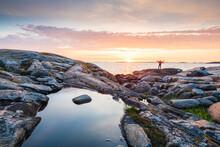Sunset At Sea, Sweden