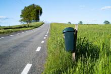 Bin On Roadside, Sweden
