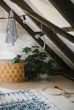 View Of Attic Room, Sweden