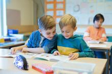 Boys In Classroom, Sweden