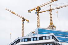 Building Cranes On Constructio...