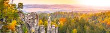 Colorful Autumn Landscape And ...