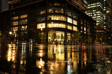 Rainy Tokyo Marunouchi / Build...