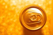 Top View Of Aluminum Soda Or O...