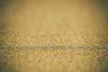 Full Frame Shot Of Gold Glitter