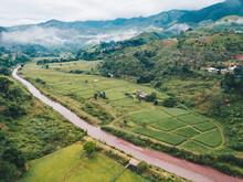 Beautiful Aerial View Of Wah R...