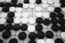 Full Frame Shot Of Checkers