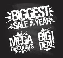 Biggest Sale Stamp Set - Bigge...