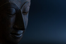 .face Of A Smiling Buddha