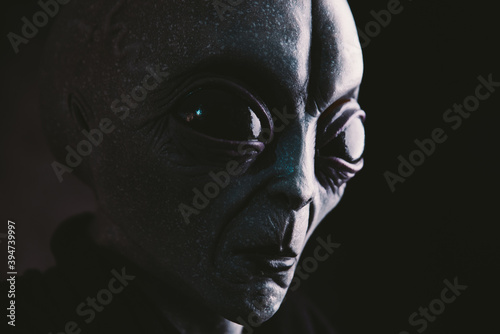 Fotografija Alien creature has a message for humans