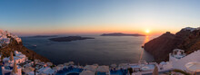 Sunset And Beautiful Mediterra...