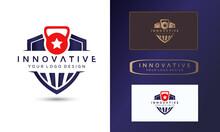 Sports Fitness Logo Design Template, Symbol Vector Illustration Design Template