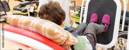 Fotomural 老人福祉施設 高齢者のリハビリ 運動