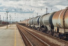 Freight Train Silo Wagon Detail