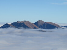Over The Mountains. Over The Clouds. Freedom Everywhere