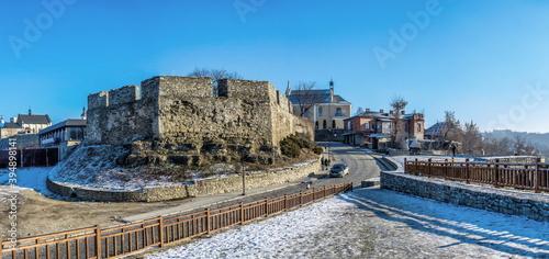 Armenian bastion of Kamianets-Podilskyi, Ukraine Fotobehang
