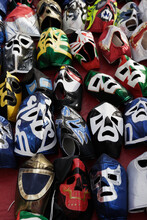 Assortment Of Mexican Wrestling Masks