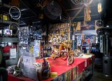 Inside Workshop Of Broken Spoke Saloon