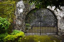 Gated Entrance At Fort Santiago