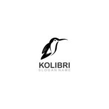 Colibri Bird Logo Line Outline...