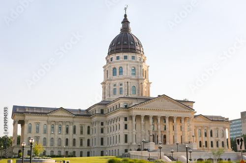 Capitol building Topeka Kansas