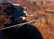 Aerial Shot Of The Colorado Ri...