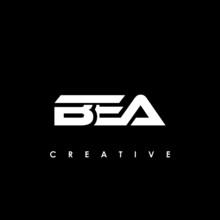 BEA Letter Initial Logo Design Template Vector Illustration