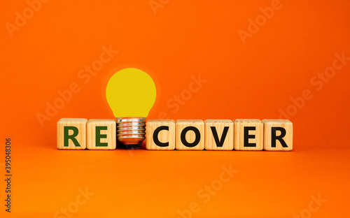 Recover concept Fotobehang